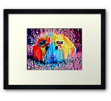 Squeal For Me My Pleasure Piggy Framed Print