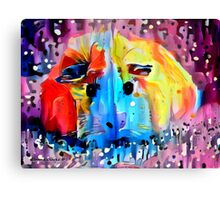 Squeal For Me My Pleasure Piggy Canvas Print