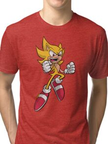 Super Sonic Coloured Tri-blend T-Shirt