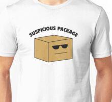 Suspicious Package Unisex T-Shirt