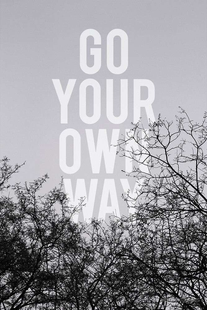 Go Your Own Way by GalaxyEyes