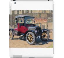 1919 Ford Model T Roadster 'T 4 2' iPad Case/Skin