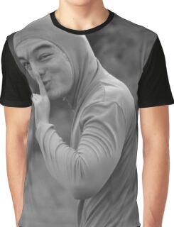 Filthy Frank - Shh Black & White Graphic T-Shirt