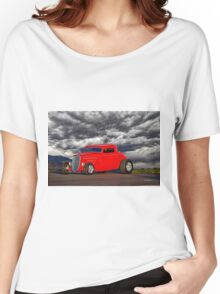 1934 Ford 'Chopped' Coupe Women's Relaxed Fit T-Shirt