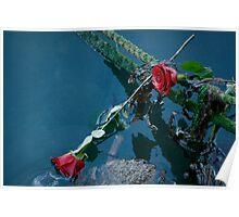 Barfleur Roses Poster