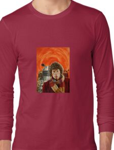 Doctor Who by Terry Oakes Long Sleeve T-Shirt