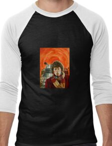 Doctor Who by Terry Oakes Men's Baseball ¾ T-Shirt