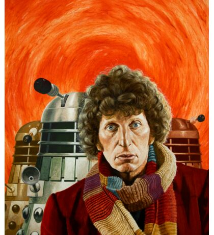 Doctor Who by Terry Oakes Sticker