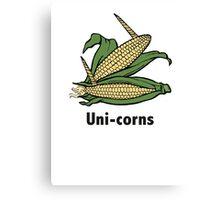 Uni-corns Canvas Print