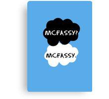 Mcfassy - TFIOS Canvas Print