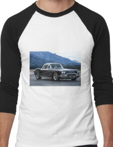 1962 Corvette C1 Men's Baseball ¾ T-Shirt