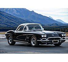 1962 Corvette C1 Photographic Print