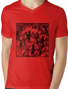 Dance with the Devil  Mens V-Neck T-Shirt
