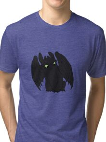 Little Toothless Tri-blend T-Shirt