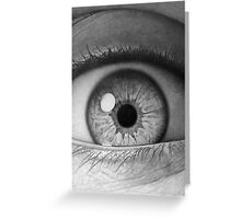 Eyeball (graphite drawing) Greeting Card