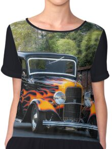 1932 Ford 'Fenders and Flames' Coupe Chiffon Top