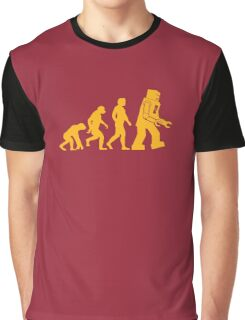 Human Evolution Graphic T-Shirt