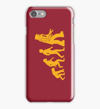 Human Evolution iPhone Case/Skin