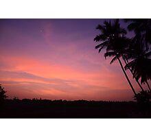 Setting Sun Photographic Print