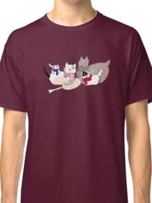 Coffee cats family Classic T-Shirt