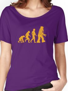 Human Evolution Women's Relaxed Fit T-Shirt
