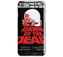 romero cult movie dawn of the  dead iPhone Case/Skin