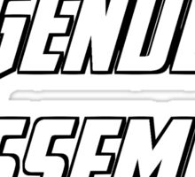 Agenders Assemble Sticker