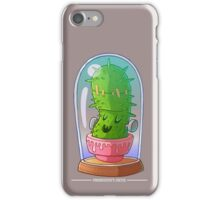 Frankenstein's cactus iPhone Case/Skin