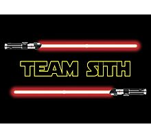 Team Sith Photographic Print