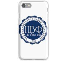Pi Beta Phi Penn State iPhone Case/Skin