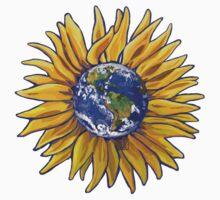 Sunflower Earth One Piece - Short Sleeve