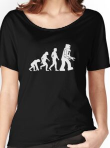 Human Evolution Variant Women's Relaxed Fit T-Shirt