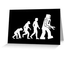 Human Evolution Variant Greeting Card