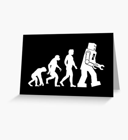 Human Evolution Variant Greeting Card