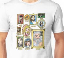Olympus Family Portrait Watercolor Shirt and Sticker Unisex T-Shirt