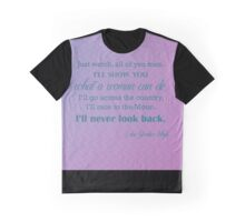 What a Woman Can Do (Edna Gardner Whyte) Large Graphic T-Shirt