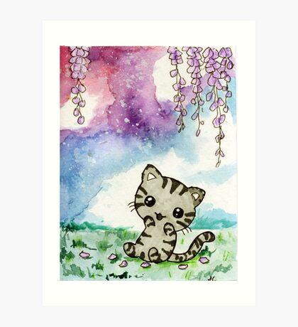Chibi Nala Kitty Art Print