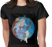 Woodland Muse Womens Fitted T-Shirt
