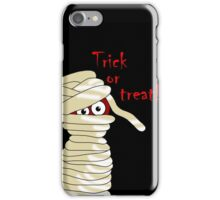 Halloween mummy  iPhone Case/Skin