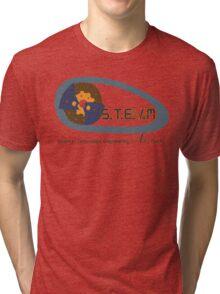 S.T.E.M education to S.T.E.A.M education Tri-blend T-Shirt