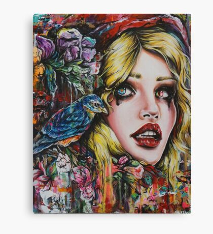 Red Riding Hood  Canvas Print