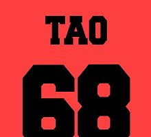 EXO:Tao- Baseball Jersey  by nomeremortal