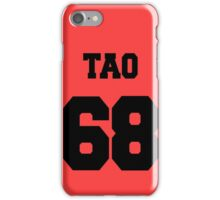 EXO:Tao- Baseball Jersey  iPhone Case/Skin