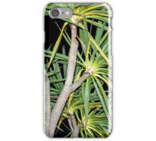 Night Time Palm Trees iPhone Case/Skin