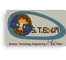 S.T.E.M education to S.T.E.A.M education Canvas Print