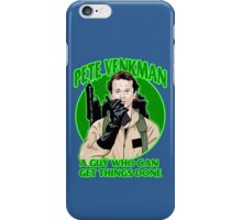 Pete Venkman iPhone Case/Skin