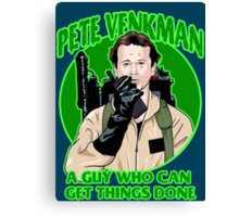 Pete Venkman Canvas Print