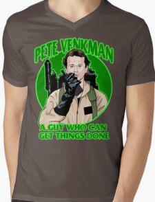 Pete Venkman Mens V-Neck T-Shirt