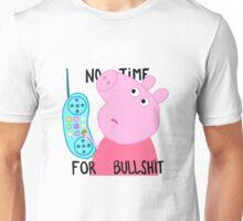 Peppa is not amused. Unisex T-Shirt