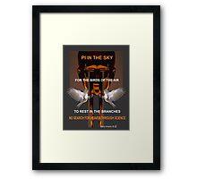 Pi in the Sky by Darryl Kravitz 2014 Framed Print